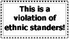 Violation of Ethnic standers by Unicorn--Cake