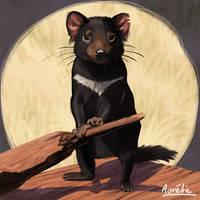 Weeklies #3-29 Tasmanian Devil by Aurelie-Charmeau