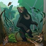 Weeklies #4-17 Sun bear by Aurelie-Charmeau