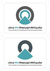 veil or hijab logo by vattin14