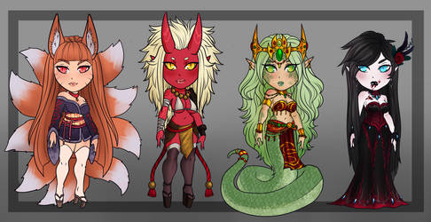 Monster Girl Adopts- CLOSED by Akira-Raikou