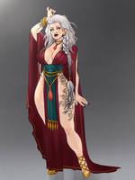 Indra the sorceress by Akira-Raikou