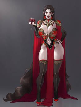 Yvonne the vampire mistress