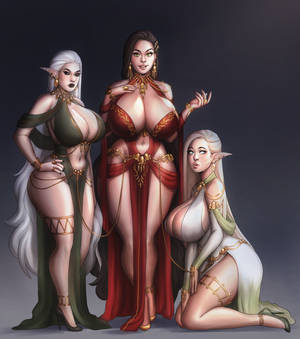 [C] Iskra and her servants