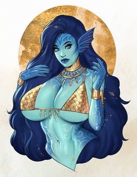 Gweyr the water genasi