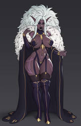 Drow design for the husband!