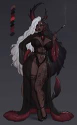 Goth vampire demoness- CLOSED