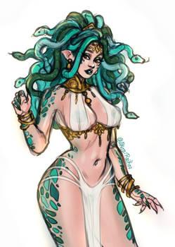Avalon the gorgon