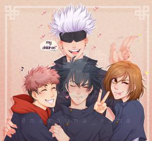 [Fanart] Jujutsu Kaisen - Chaos Family