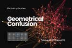 Geometrical Confusion Photoshop Brushes 1
