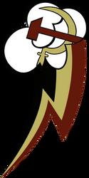 Soviet Dash Cutie Mark V2 by SovietDash