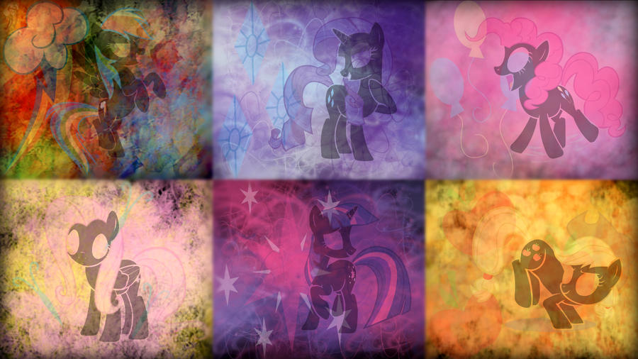 Mane 6 Wallpaper by SovietDash