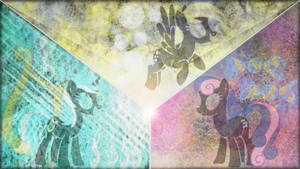 Background Trio Wallpaper 1 by SovietDash