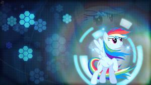 Collab: Rainbow Hex Wallpaper