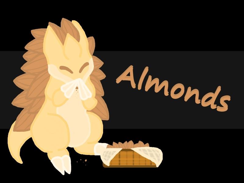 Fan Art- Almonds by Moonshard123