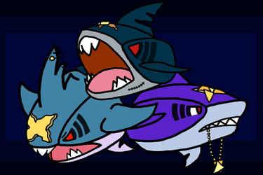 Fan Art- Gangsters of the Sea by Moonshard123