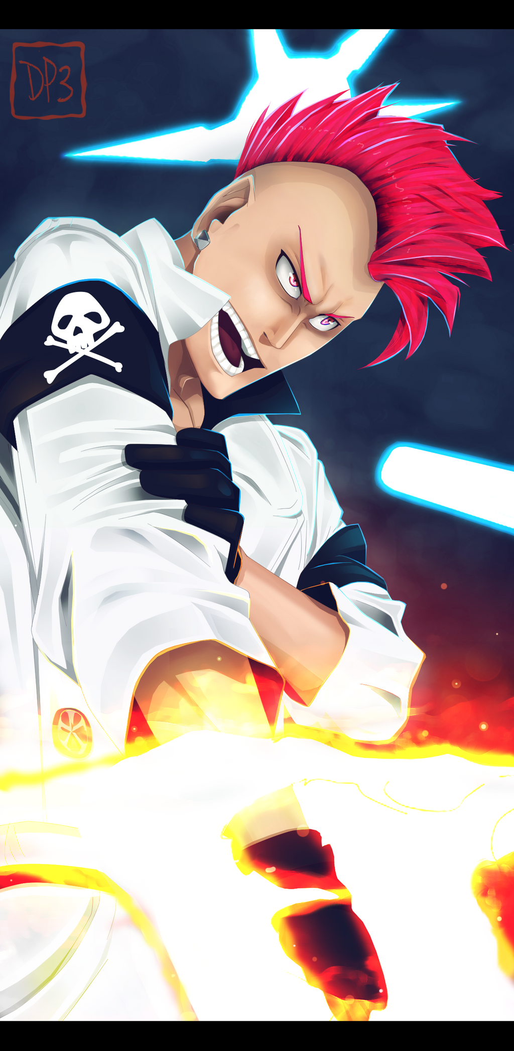 Bleach 586: Bazz B by D-Prodi3y