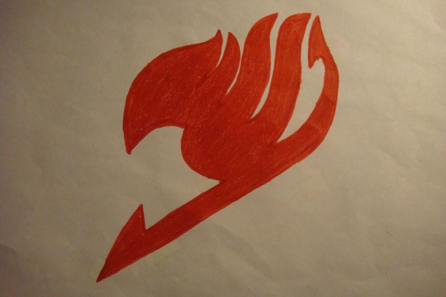 Fairy Tail Logo Red Fairy Tail Logo by Shushixd