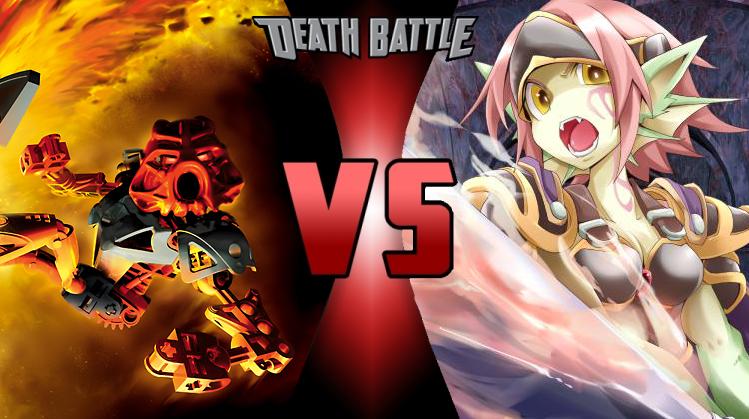 DeathBattle1 by EVA-Kirby