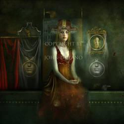 Her hidden shrine by JohndeLano