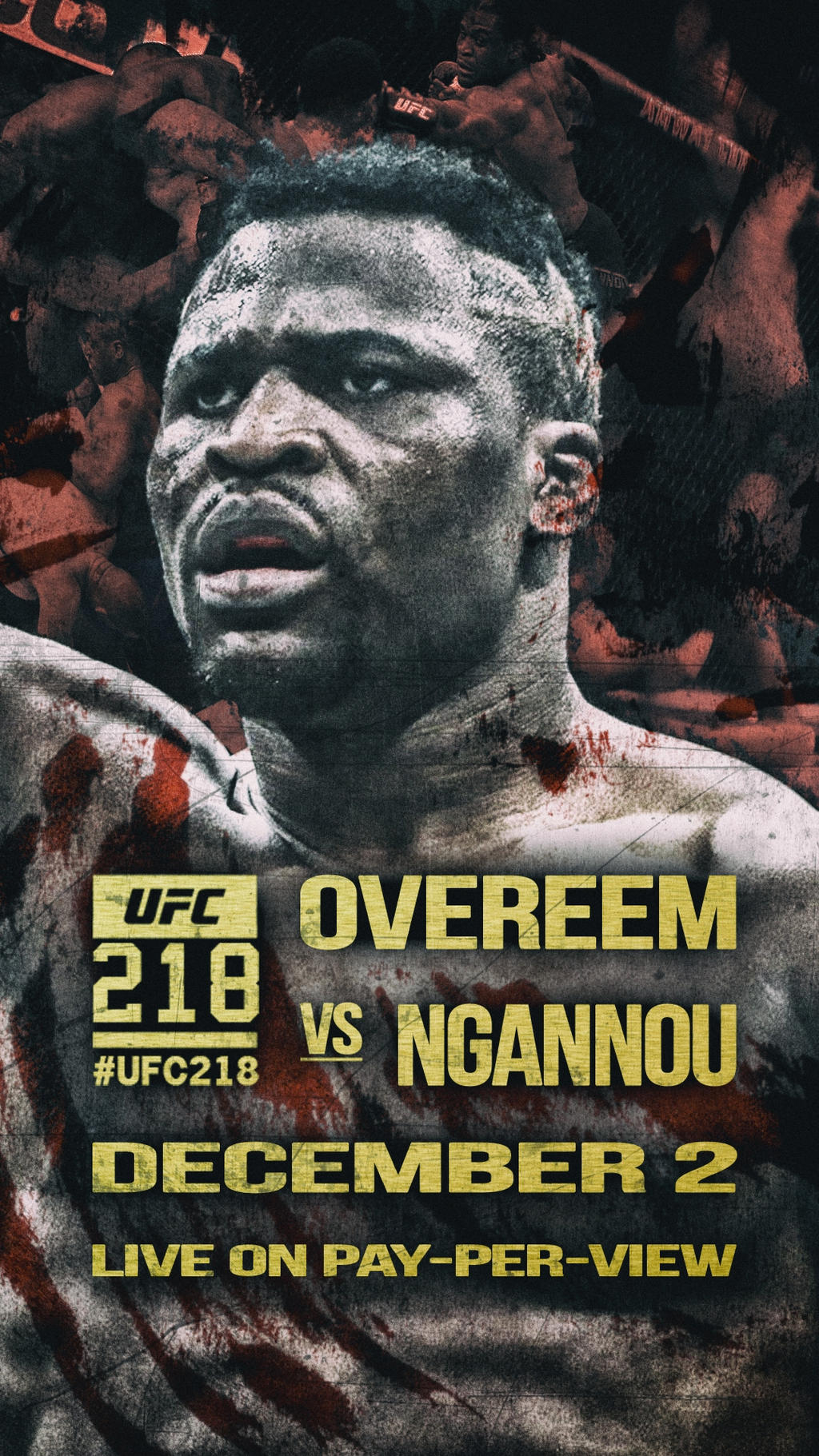 Ufc218 Iphone 8 Plus Wallpaper Ngannou 1080 By