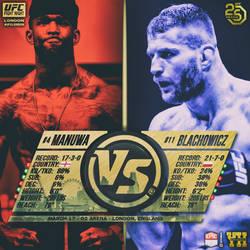 Matchup - Instant - Promo - UFC FN London - Manuwa