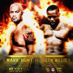 Matchup - Insta - Promo - UFC FN 142 - Hunt VS Wil