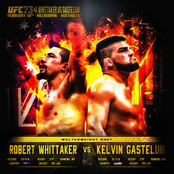Fight Announcement - Insta - UFC234 - Whittaker VS