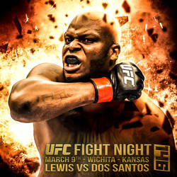 Fight Promo - Insta - UFC FN 146 - Lewis VS dos Sa