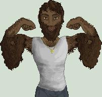 Pixel Doll: NZ Manly Man by Emotikonz