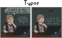 Typos: Bugs and Glitches by Emotikonz