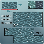 RESOURCE: Pixel Water by Emotikonz