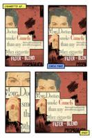 Cigarette Ad Typography by runningoutofblackink
