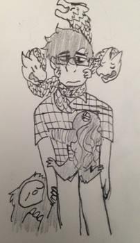 [Doodle] Mental Beasts