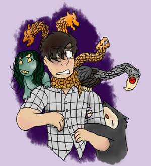 [Doodle] Mind Beasts