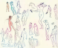 Lifedrawing session