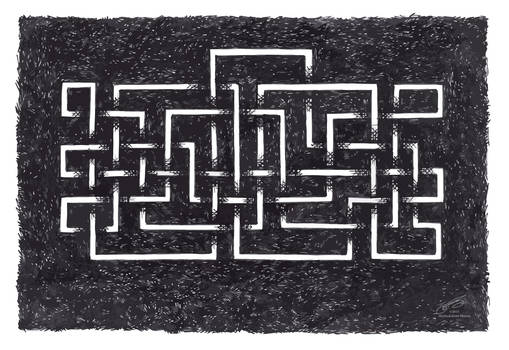 Maze- Black