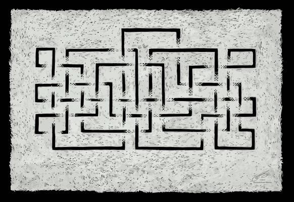 Maze- White