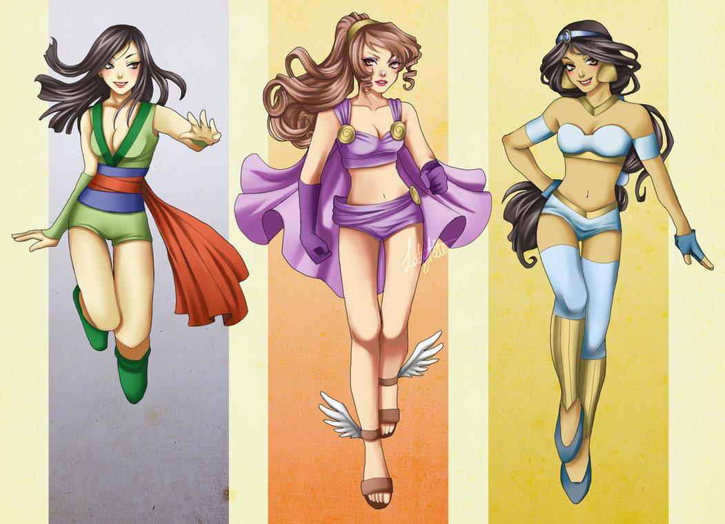 SuperGirls II by Hannah-Alexander