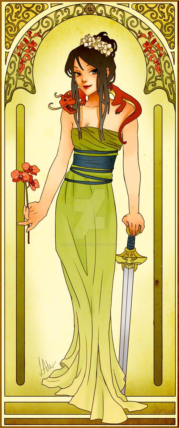 Warrior by Hannah-Alexander