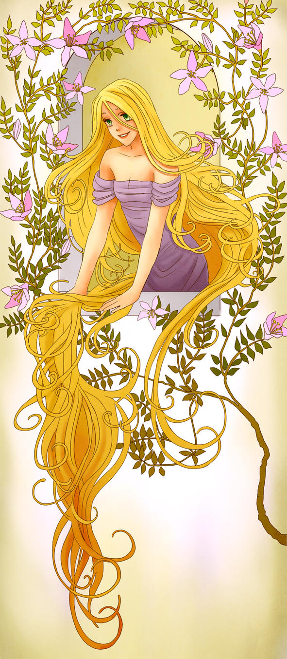 Rapunzel by Hannah-Alexander