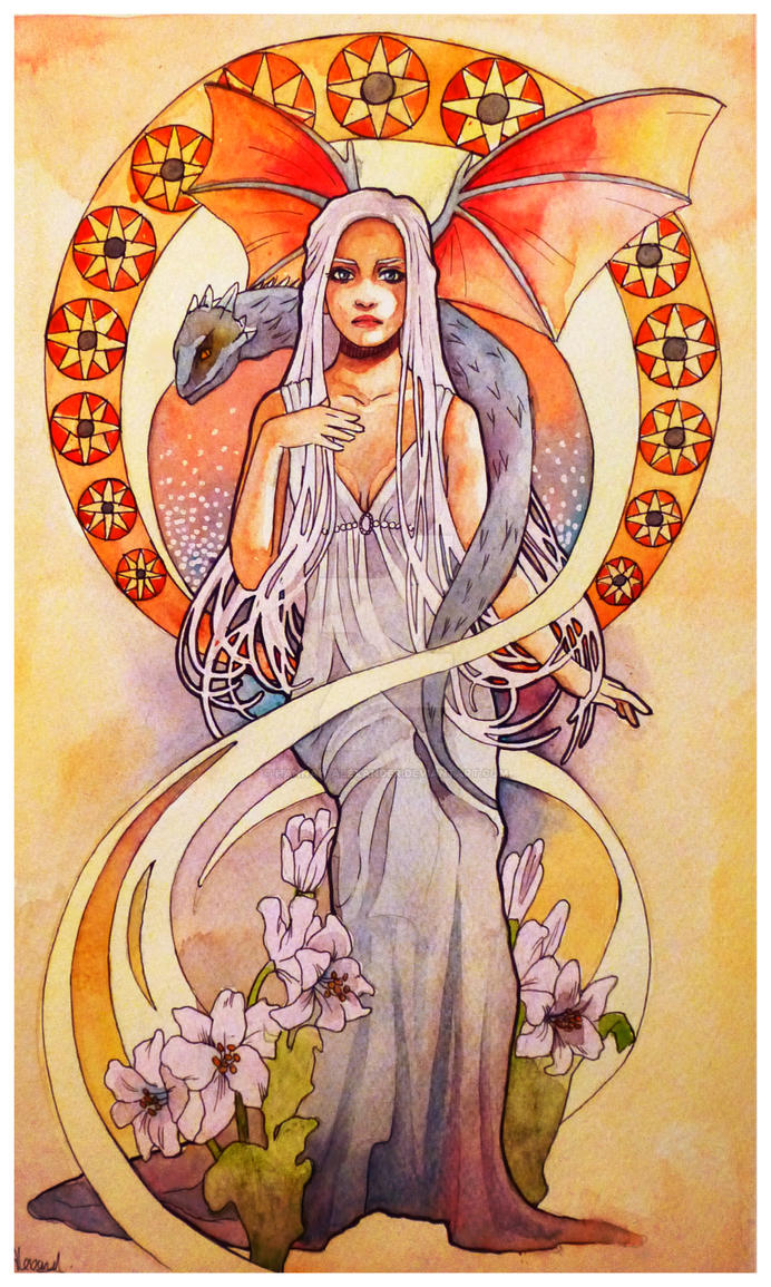 Mother Of Dragons by Hannah-Alexander