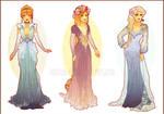Art Nouveau Costume Designs II