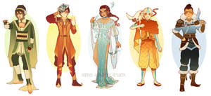 Updated: Avatar Art Nouveau Costume Designs