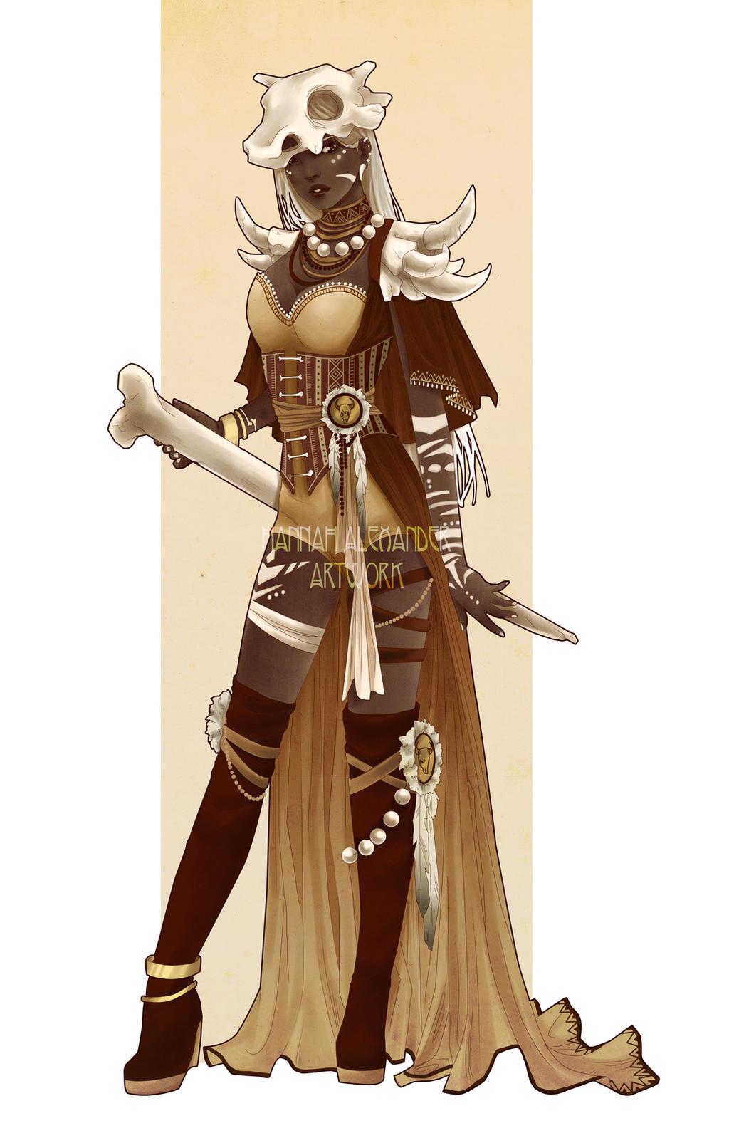 Cubone Costume Design by Hannah-Alexander