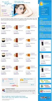 Online perfume store website