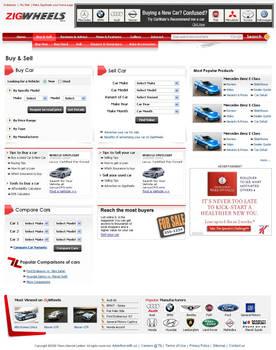 Auto Website - inside page