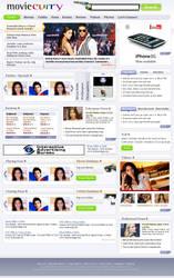 Movie Entertainment website by vinkrins