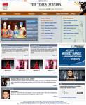 Fashion Website layout 2