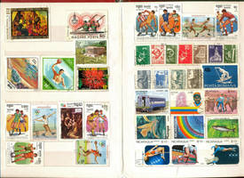 Postage Stamp collection 3 by vinkrins